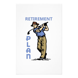 Retirement Plan Customised Stationery