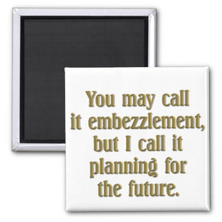 Retirement Planning Square Magnet