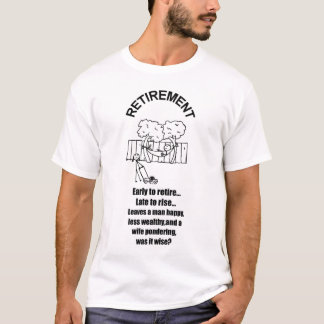 RETIREMENT PONDERING 2006 T-Shirt