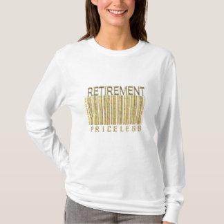 'Retirement - Priceless' Barcode Shirt