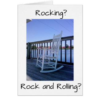 RETIREMENT QUESTION? ROCK OR ROCK AND ROLL? CARD