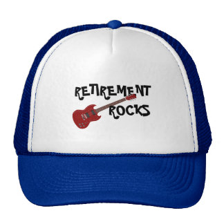 RETIREMENT ROCKS CAP