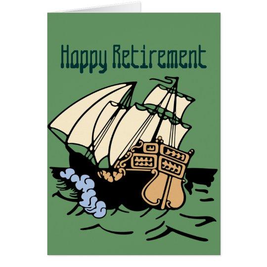 Retirement Ship Card