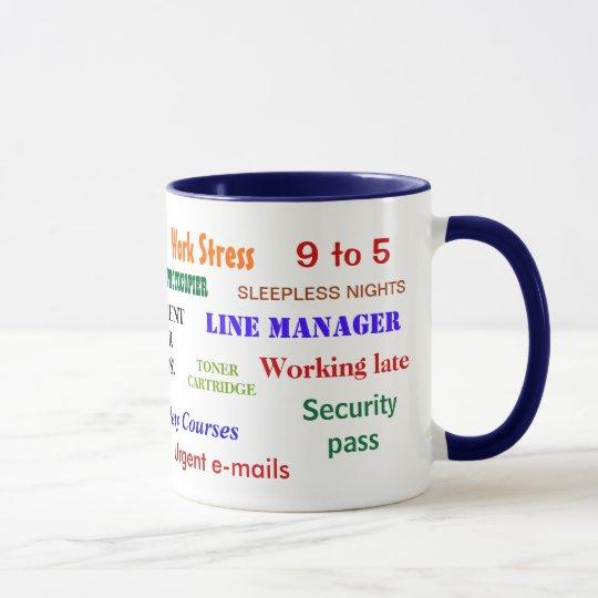 Retirement Swear Words Annoying Joke Classic Mug