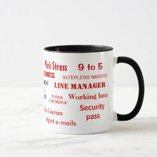 Retirement Swear Words! Funny Retirement Sayings Mug