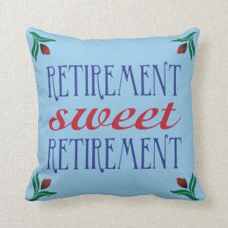Retirement Sweet Retirement Cushion