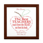 Retirement, Thank you Teacher Gift Large Square Gift Box