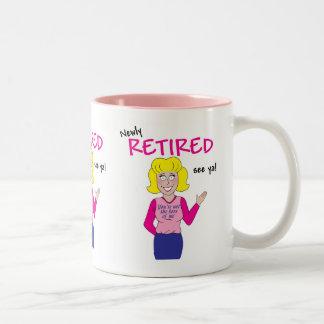 Retirement Two-Tone Coffee Mug