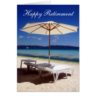 retiring beach shade card