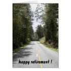 retiring roads card