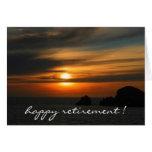 retiring sunset colours