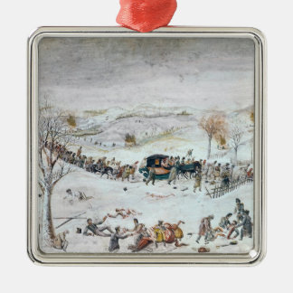 Retreat from Russia Christmas Ornament