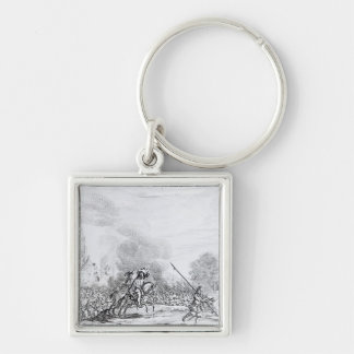 Retreat from the Battle of Worcester Key Ring