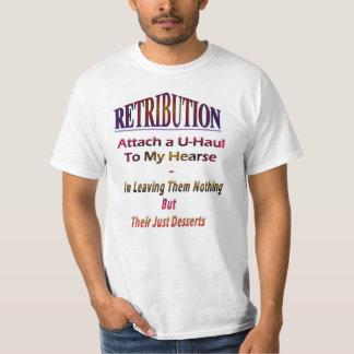"""Retribution"" - No Image - Their Just Desserts T-Shirt"