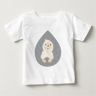 Retriever in the rain baby T-Shirt