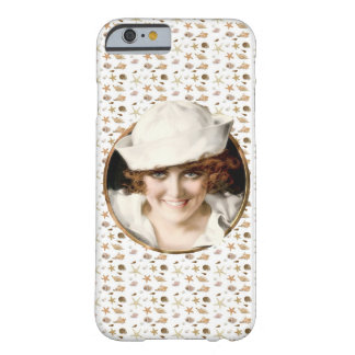 Retro 1920s Sailor Girl Barely There iPhone 6 Case