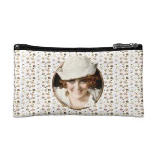 Retro 1920s Sailor Girl Cosmetics Bags