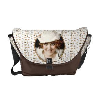 Retro 1920s Sailor Girl Courier Bag