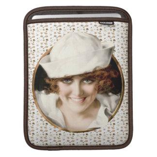 Retro 1920s Sailor Girl iPad Sleeves