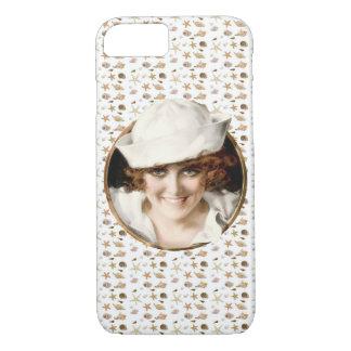 Retro 1920s Sailor Girl iPhone 7 Case