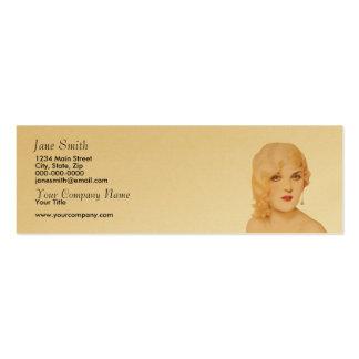 Retro 1930s business card templates