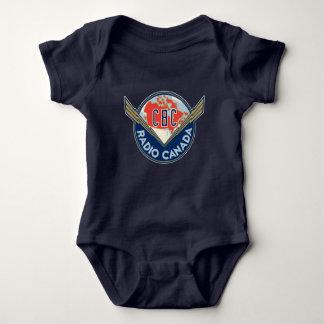 Retro 1940-1958 baby bodysuit
