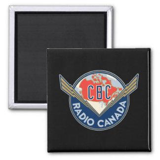 Retro 1940-1958 square magnet