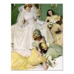 Retro 1940s Bridal Shower Personalised Invite