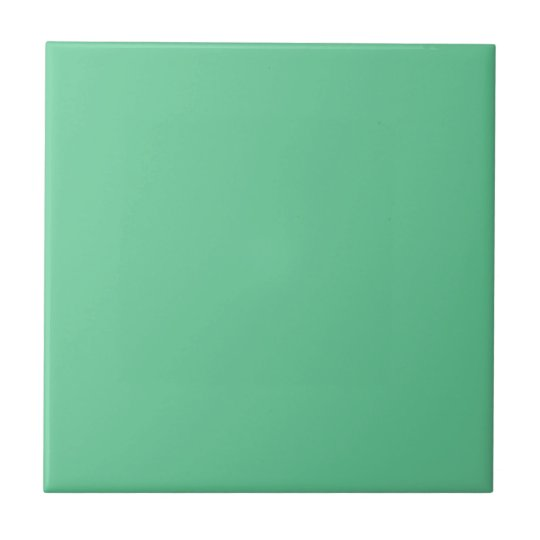 Retro 1940's era Popular Jade green mid-century Tile