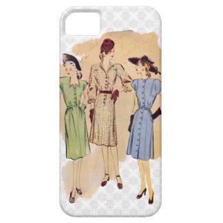 Retro 1940s Fashion iPhone 5 Cases