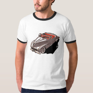 Retro 1950s classic American cars convertible Tee Shirts