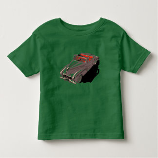 Retro 1950s classic American cars convertible Toddler T-Shirt
