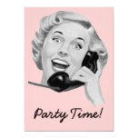 Retro 1950s Party Custom Invites
