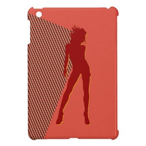 Retro 1970s babe case for the iPad mini