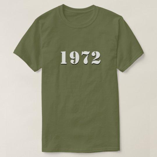 Retro 1972 T-Shirt (white)