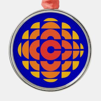 Retro 1974-1986 christmas ornament