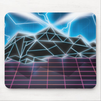 Retro 1980s video game graphic mouse mat