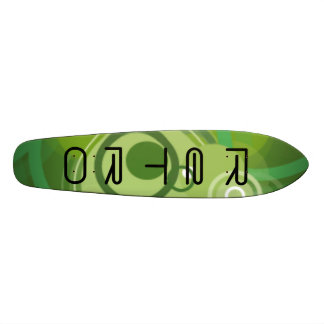 ReTrO 19.7 Cm Skateboard Deck