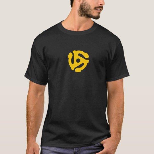 Retro 45 Record Adapter T-Shirt