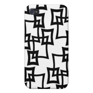 retro 50s 60s 70s pern  iPhone 4 cases