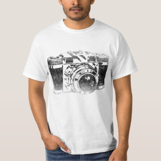 Retro 50's camera t shirts