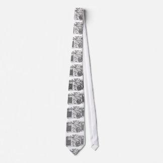 Retro 50's camera tie