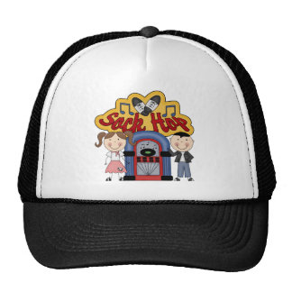 Retro 50's Sock Hop Cap