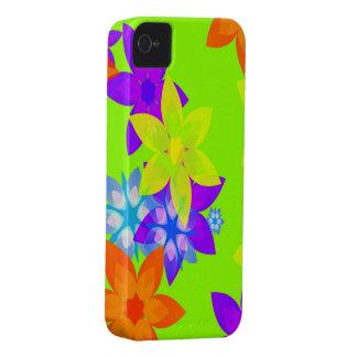 Retro 60 s Flower Power Art iPhone Case iPhone 4 Covers