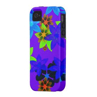 Retro 60 s Flower Power Hippy Art iPhone Case Case-Mate iPhone 4 Cases