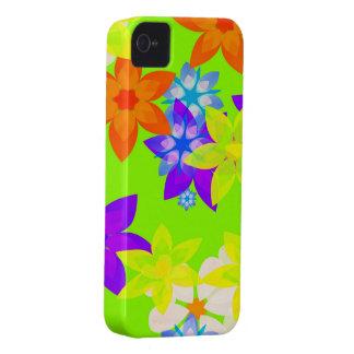 Retro 60's Flower Power Art iPhone Case Case-Mate iPhone 4 Case
