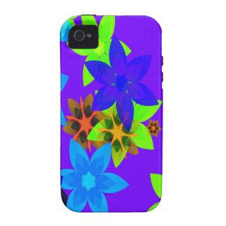 Retro 60's Flower Power Art iPhone Case Vibe iPhone 4 Cases