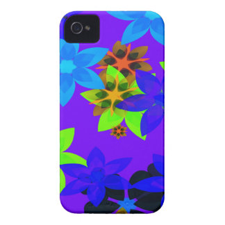 Retro 60's Flower Power Hippy Art iPhone Case