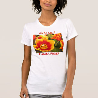 Retro 60s Flower Power T-Shirt