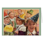 Retro 60th Birthday Party 1953 Childhood Memories Cards